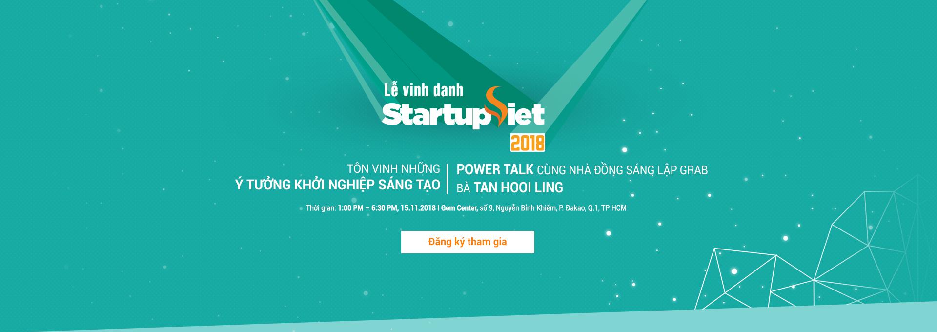Gala - Startup Việt 2018