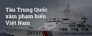 Trung Quốc đưa nhóm tàu khảo sát tới biển Việt Nam