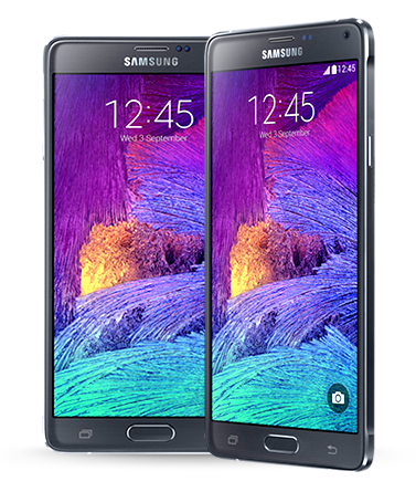 Samsung<br/>Galaxy Note 4